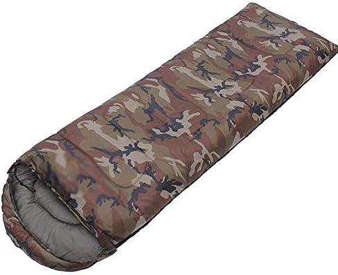 JTYX Sacco a Pelo per Adulti Inverno Caldo Camouflage Camouflage Camouflage Busta con Cappuccio Outdoor Leisure Camping Lunch Break Borse Antivento,verde,1.5KG B07MH2LJKD Parent | Buon design  | Chiama prima  | Up-to-date Stile  f90d77
