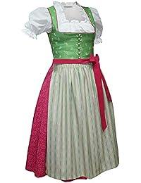 6ba1a8143326b Kaiser Franz Josef Dirndl Trachten-Kleid Trachtenkleid Dirndlkleid Reine  Baumwolle Balkonett Baumwolldirndl Streublumen Baumwolldruck gewebter