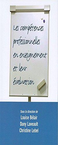 Les comptences professionnelles en enseignement et leur valuation
