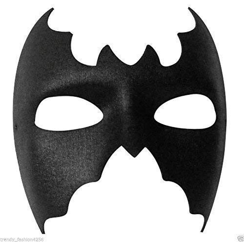 Damen Herren Batman Batgirl Halloween Fledermaus Maskenkostüm Augen ()