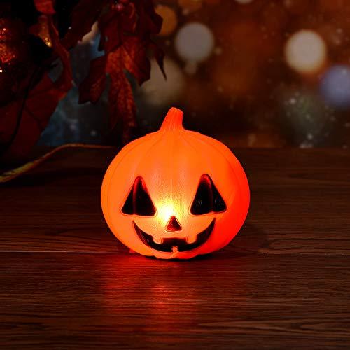 Monster Für Kostüm Erwachsene Kit - Eliasan Tragbare Halloween Requisiten Halloween kürbis licht schöne Muster Lampe Laternen für Halloween Party Decor Indoor Urlaub batteriebetrieben