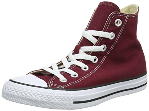 Converse Chuck Taylor All Star Core Hi, Baskets mode mixte adulte - Rouge (Bordeaux), 35 EU