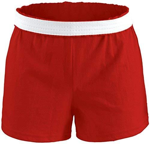 Soffe Athletic Youth Cheer Kurz, Mädchen, Rot, X-LG -
