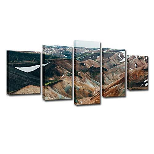 5 tablero creativo único fondo pared lienzo pared arte impresión cartel decoración del hogar pintura 713