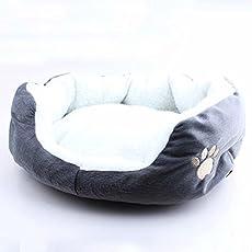 Rund oder Oval Form Bohrmulden-Fleece Nistkasten Liegehöhle PET CAT Bett für Katzen und kleine Hunde