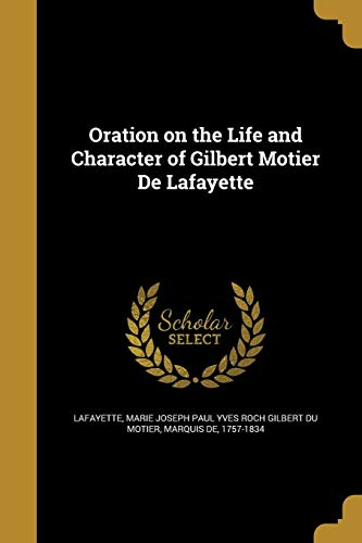 ORATION ON THE LIFE & CHARACTE