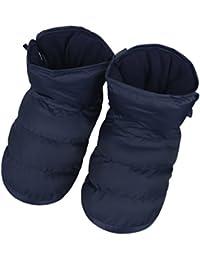Chaussons d intérieur Maison Pantoufles en Velours Chaussures Antidérapante  Etanche Chaud Chaussettes Sol Epais Doux 1e2e540831c1
