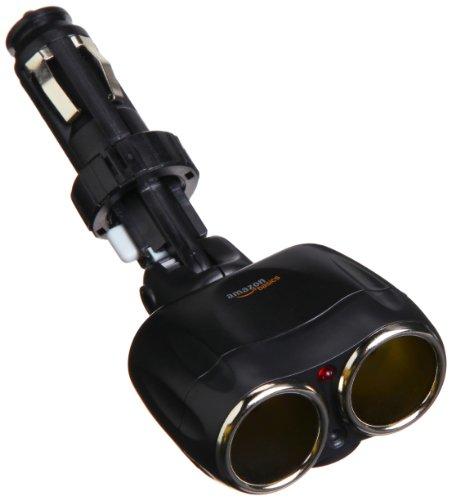 amazonbasics-adaptador-de-doble-entrada-para-encendedor-de-coche-color-negro