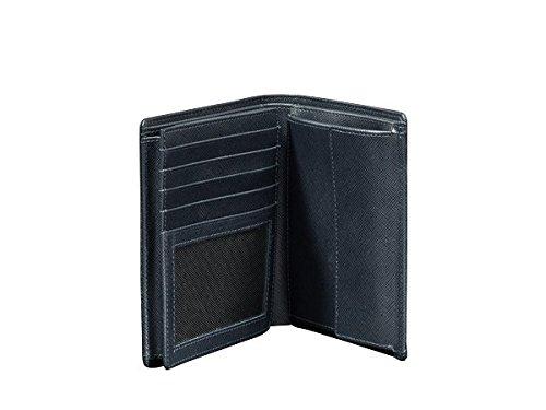 Porsche Design Saffiano V11 Porte-monnaie cuir 11 cm dark blue