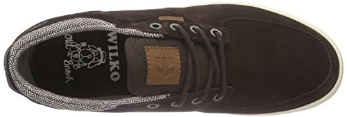Etnies Hitch, Chaussures de Skateboard homme Marron (dark Brown)