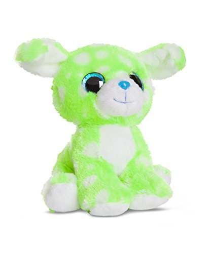 aurora-mondiale-60456-peluche-caramelle-cane-minty-7-pollici-178-cm-neon-verde