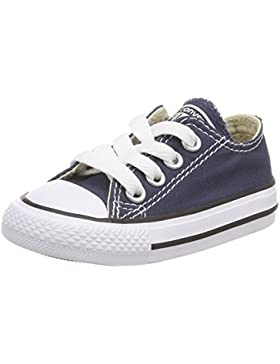 Converse Yths C/T Allstar Canvas, Chuck Taylor All Star Core OX, Zapatillas Unisex Bebé