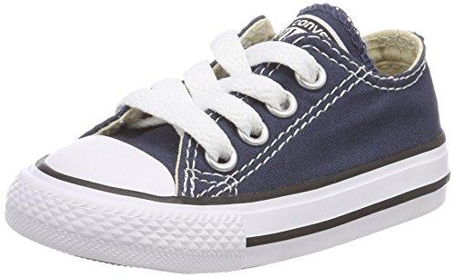 Converse Chuck Taylor All Star 3J237, Unisex - Kinder Sneakers, Blau (Navy), EU 33 (1,5 Ps Spa)