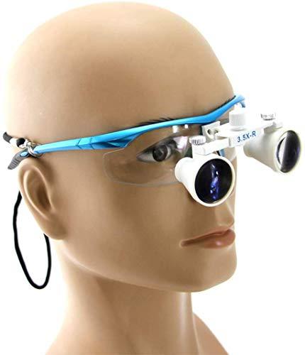 Wanjia Augenbrauen für Zahnarztpraxen, für Operationen, Vaskulär, Arbeitsabstand: R (420 mm), Vergrößerung: 3,5 x