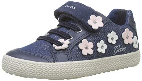 Geox Baby Mädchen B Kilwi Girl A Sneaker, Blau (Avio C4005), 27 EU