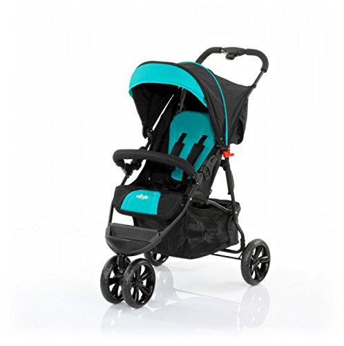 ABC Design 40458750332923roues Sport Buggy Treviso 3S Cirle Noir/bleu sarcelle
