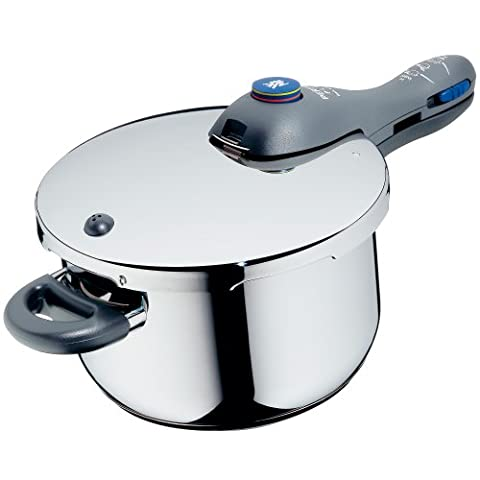 WMF Perfect Plus Pressure cooker 4,5l with insert Ø 22cm Made in Germany internal scaling Cromargan stainless steel suitable for