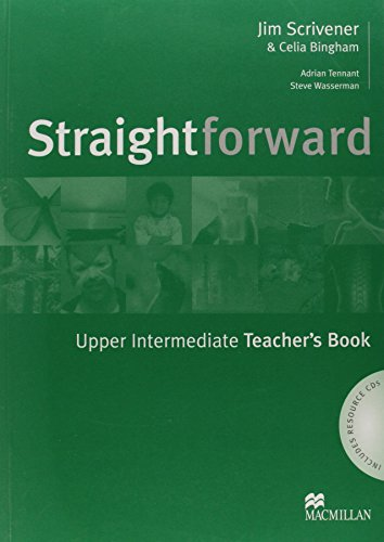 Straightforward Upper to Intermediate Teachers Book