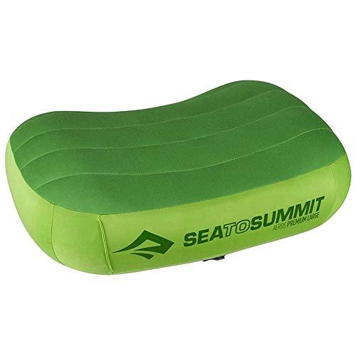 Aero Luftmatratze (Sea to Summit Aeros Premium Pillow Lime (Regular))
