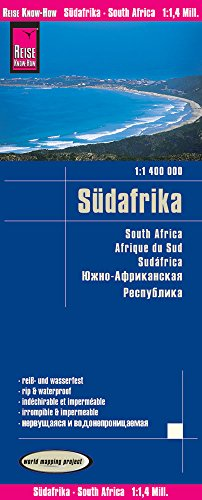 Reise Know-How Landkarte Südafrika (1:1.400.000): world mapping project