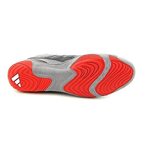 Adidas Response 3.1 Wrestling-Schuhe - Schwarz / grau / weiÃ? / Solar Gold - 5 Silver/Red/Black