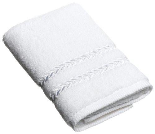Lenox Pearl Essence Badetuch, Hortensie 18-inch by 30-inch Hand Towel weiß Lenox Set Ring
