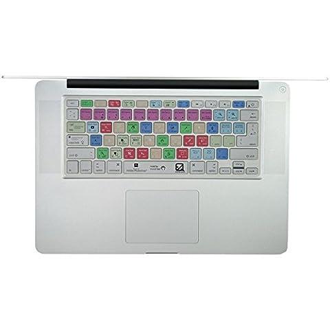EZQuest X22400 Adobe Photoshop Short Cut Keyboard Schutzhülle für Apple MacBook Air 33,02 cm (13 Zoll)