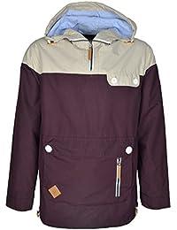 Men's Lightweight Two Tone Summer Hooded Long Sleeve Jacket