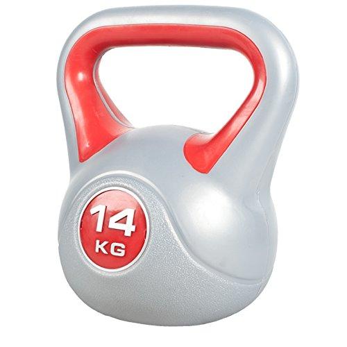 Kettlebell Stylish 2-20 KG Kugelhantel Hantel Gewicht Handgewicht aus Kunststoff