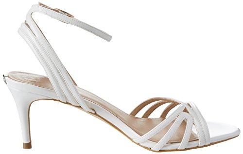 Guess Footwear Dress Sandal, Scarpe con Cinturino Alla Caviglia Donna Bianco