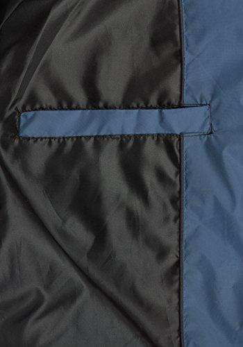BLEND Nilo Herren Weste Steppweste mit Kapuze Ensign Blue (70260)