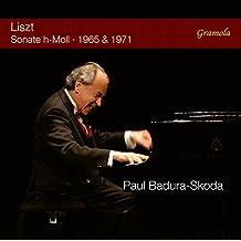 Liszt : Sonate pour piano, S 178 (versions 1965 et 1971). Badura-Skoda.