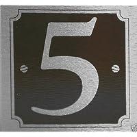 Pegatina para puerta número 5 co