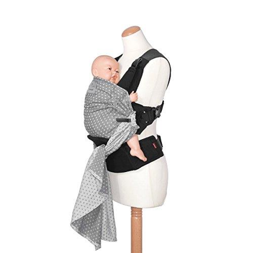 manduca® Écharpe de portage et porte-bébé porte-bébé, gris 2dab2075f84