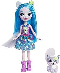 Enchantimals Muñeca con mascota Winsley Wolf (Mattel FRH40)