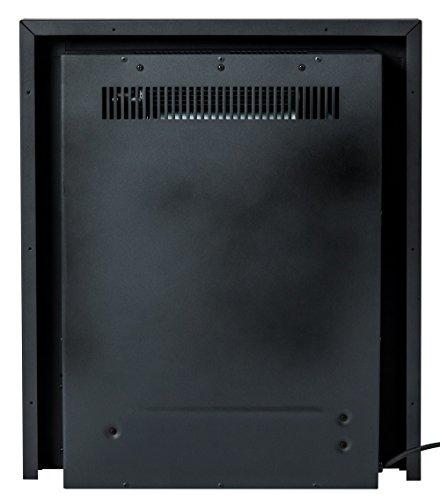 415E4BXehKL - Adam Blenheim Electric Inset Fire, 2000 W, Brass
