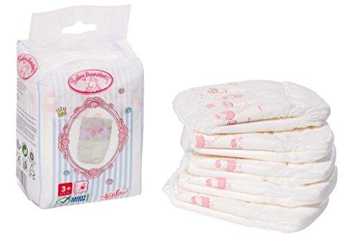 Preisvergleich Produktbild Zapf Creation 792308 - Baby Annabell Windeln, 5 Stück