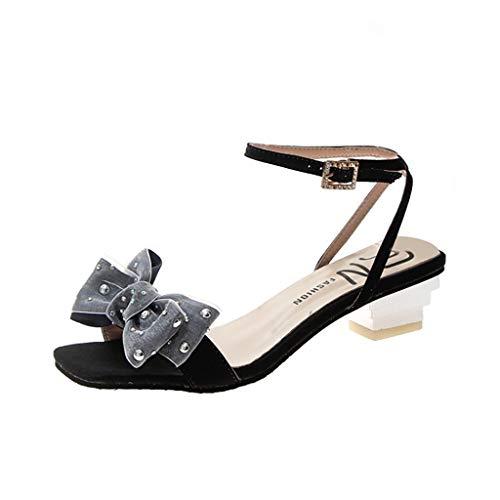 LILICAT_Schuhe Damen Neue Sandalen Plateau Keilabsatz Sandaletten Sommer Böhmische Sandalen Bequeme Peep Toe High Heels Schuhe für Gehen