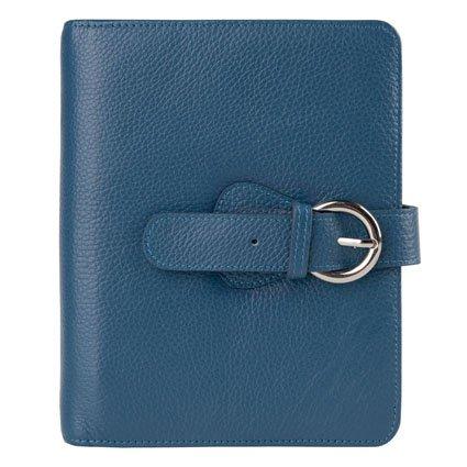 "Franklin Covey Leder ""Ava Binder Compact blaugrün"