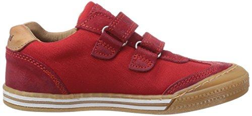 Bisgaard Velcro shoes Jungen Sneakers Rot (10 Red)