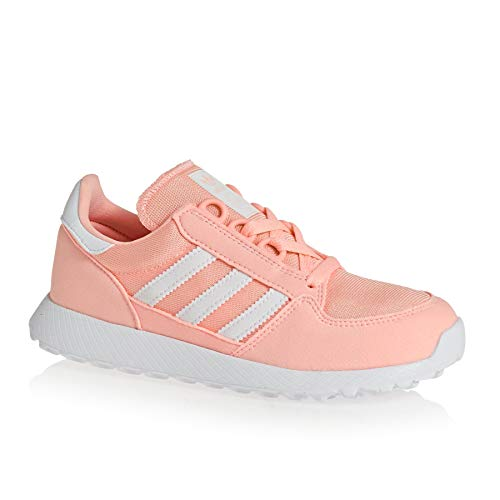 Adidas Unisex-Kinder Forest Grove C Gymnastikschuhe, Orange (Clear Orange/Ftwr White/Clear Orange Clear),30.5 EU (12UK)