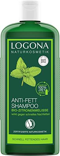 Logona, shampoo antibatterico al limone biologico, dona leggerezza e freschezza, armonizza l'equilibrio sul cuoio capelluto, con estratti biologici di piante, 250 ml