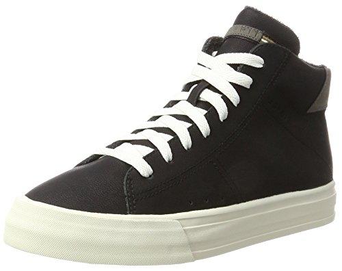 ESPRIT Damen Simona Bootie Hohe Sneaker, Schwarz (Black), 39 EU (Hohe Bootie)