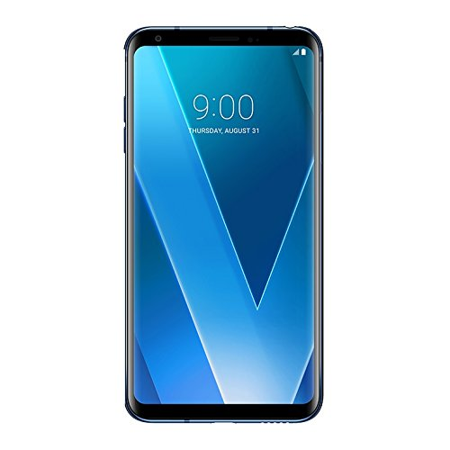 LG H930 V30 Smartphone، 64 GB، Moroccan Blue [Italy]، TIM Branded