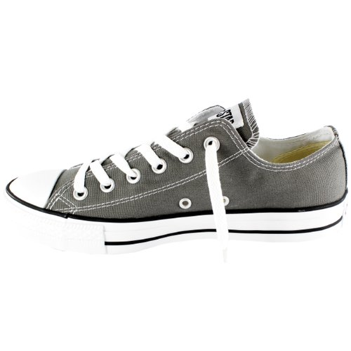 Converse All Star Chuck Taylor Ox, Sneakers Unisex - Adulto Carbone