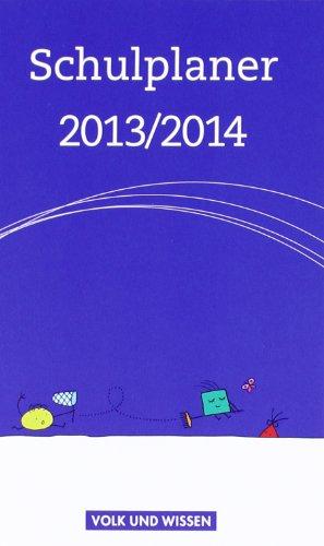 Schulplaner 2013/2014