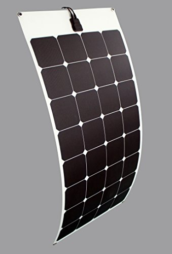 enjoysolar® Flexible Módulo Solar 100 W panel solar 12 V Ideal para Caravan Yates (precio: 138,99€)