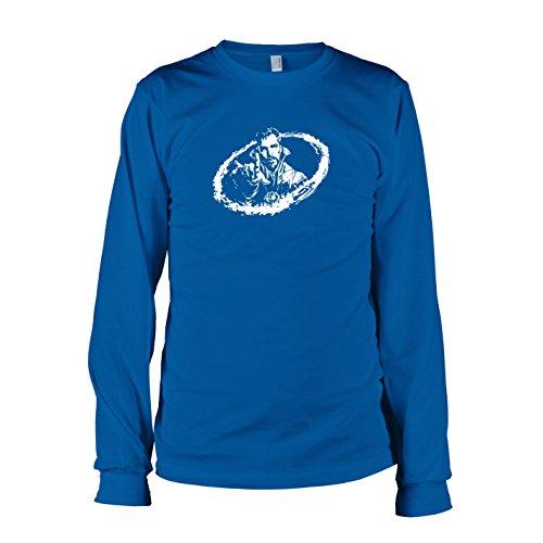TEXLAB - Strange - Herren Langarm T-Shirt, Größe XL, marine (Dr Doom Kostüm)
