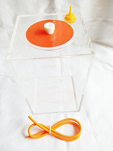 Lagerung Von Flüssigkeiten (Dosierpumpe Skala Lagerung von Flüssigkeiten Eimer mit Skala, 1,5 Liter Acryl)