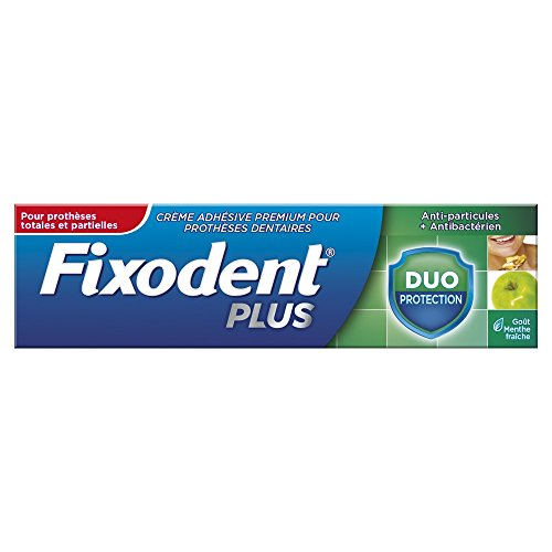 Fixodent Plus Crème Fixative Duo Protection 40g